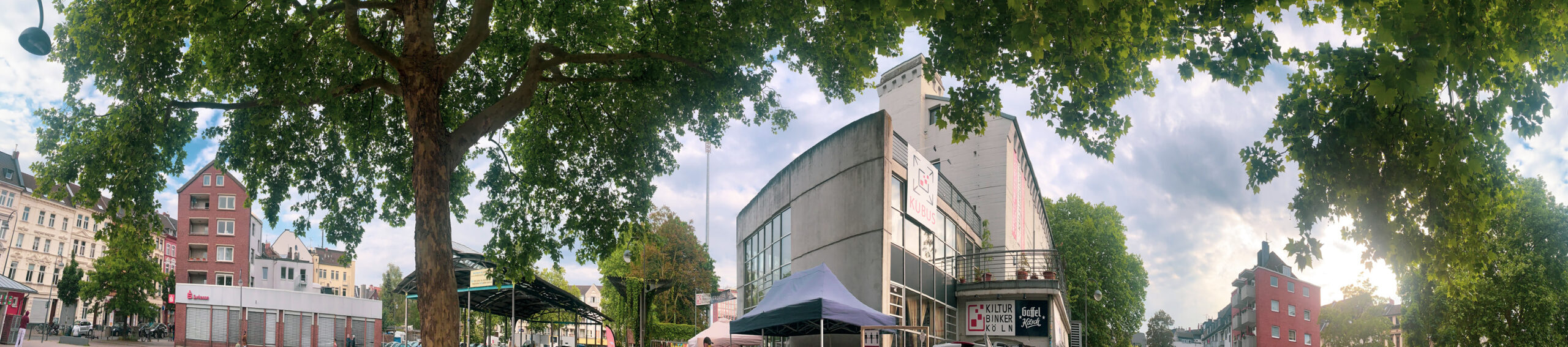 Kulturbunker Köln-Mülheim. Foto: Eva Rusch